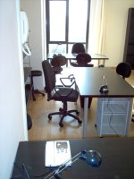 furnished office italy