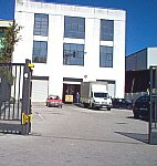 Ingresso del business center Centro Il Faro - Italy