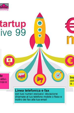 Ufficio Startup All Inclusive 99