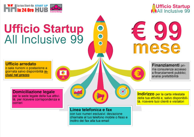 Ufficio Startup All Inclusive 99