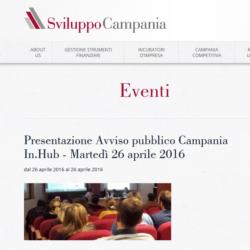 Invito 26 aprile 2016 CampaniaInHub