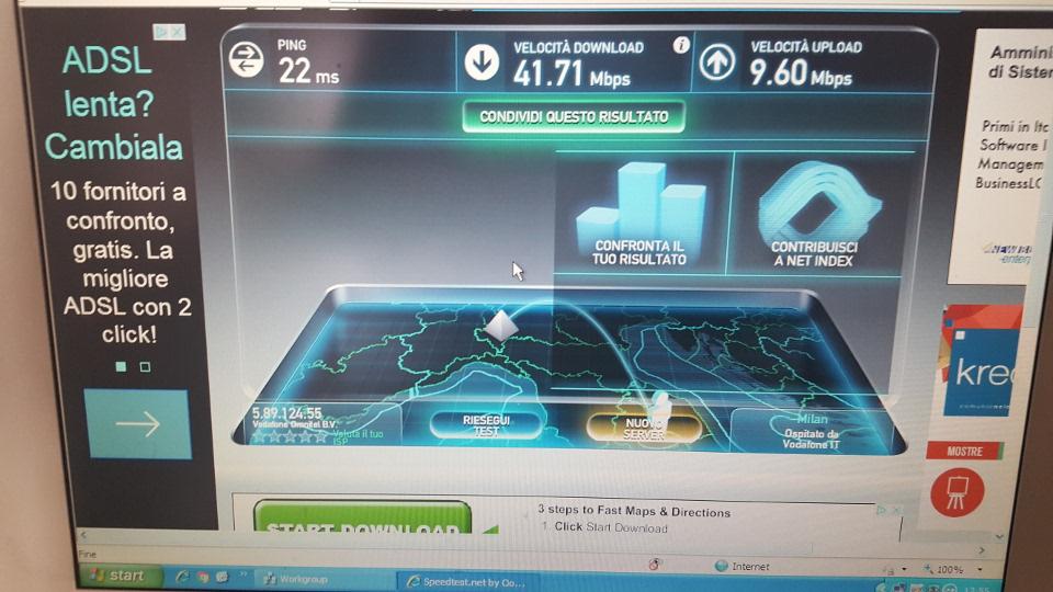 Attiva la fibra ottica nel Centro Il Faro Internet superveloce