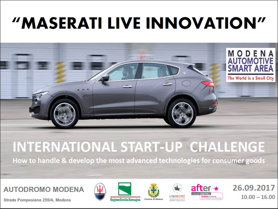 Call for MASERATI Live Innovation