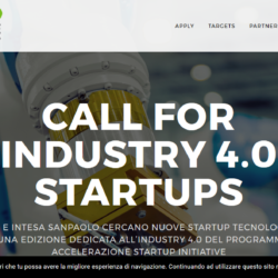 Call for starpups Cisco Industry 4.0