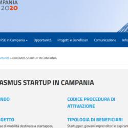Erasmus startup Campania