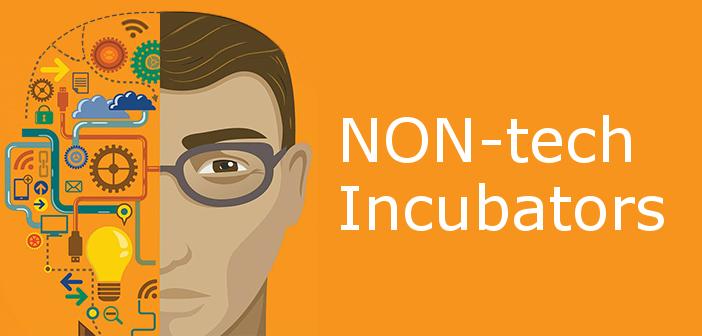 Incubatori non solo per startup tecnologiche