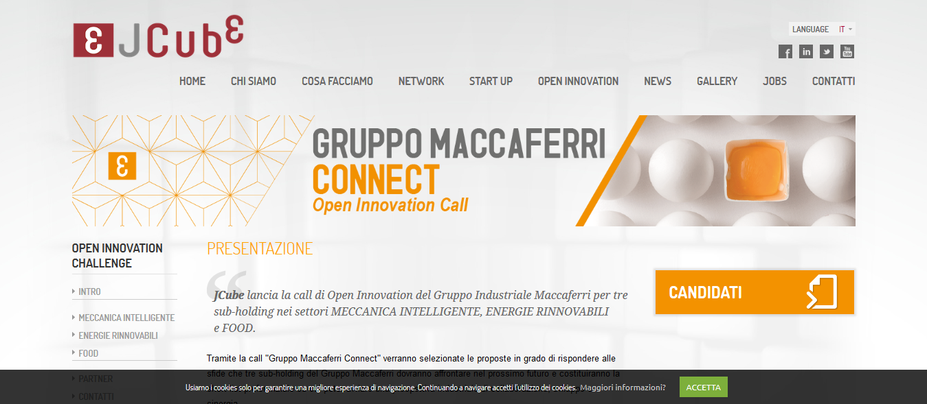 Call for innovation Gruppo Maccaferri Connect