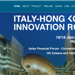 Italy Hong Kong Innovation Road 2018