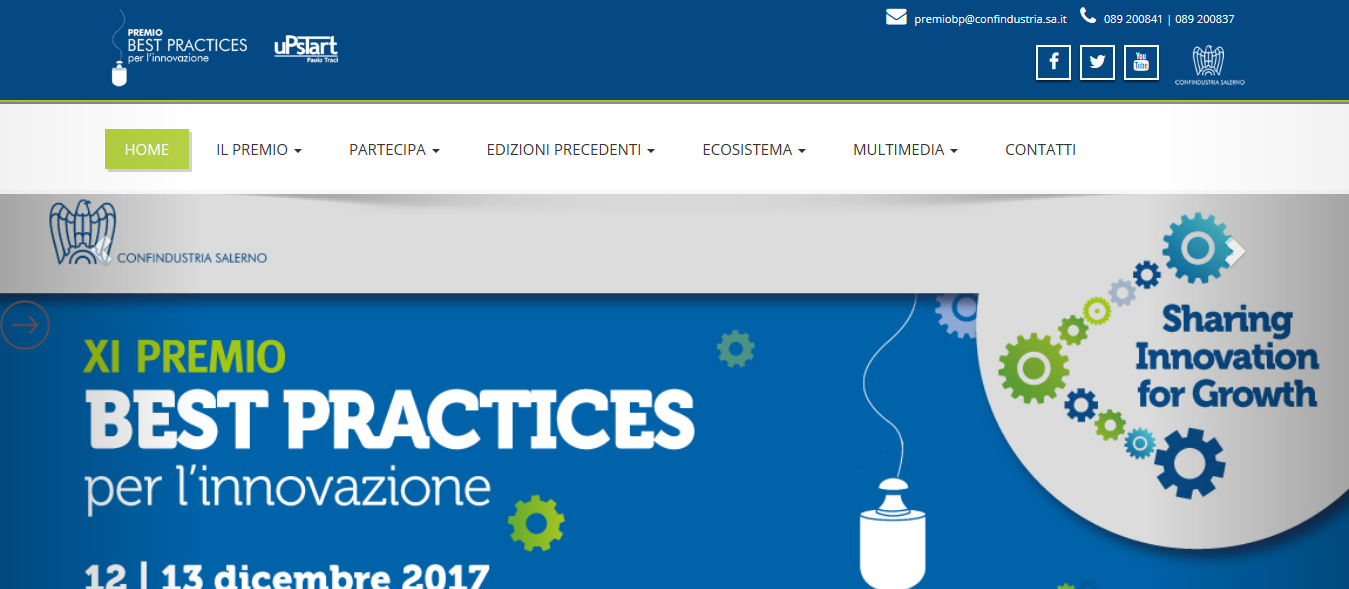 Premio Best Practices Innovazione