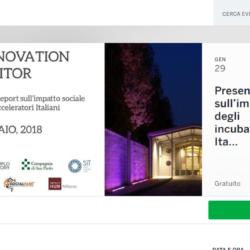 Impatto sociale degli incubatori acceleratori italiani