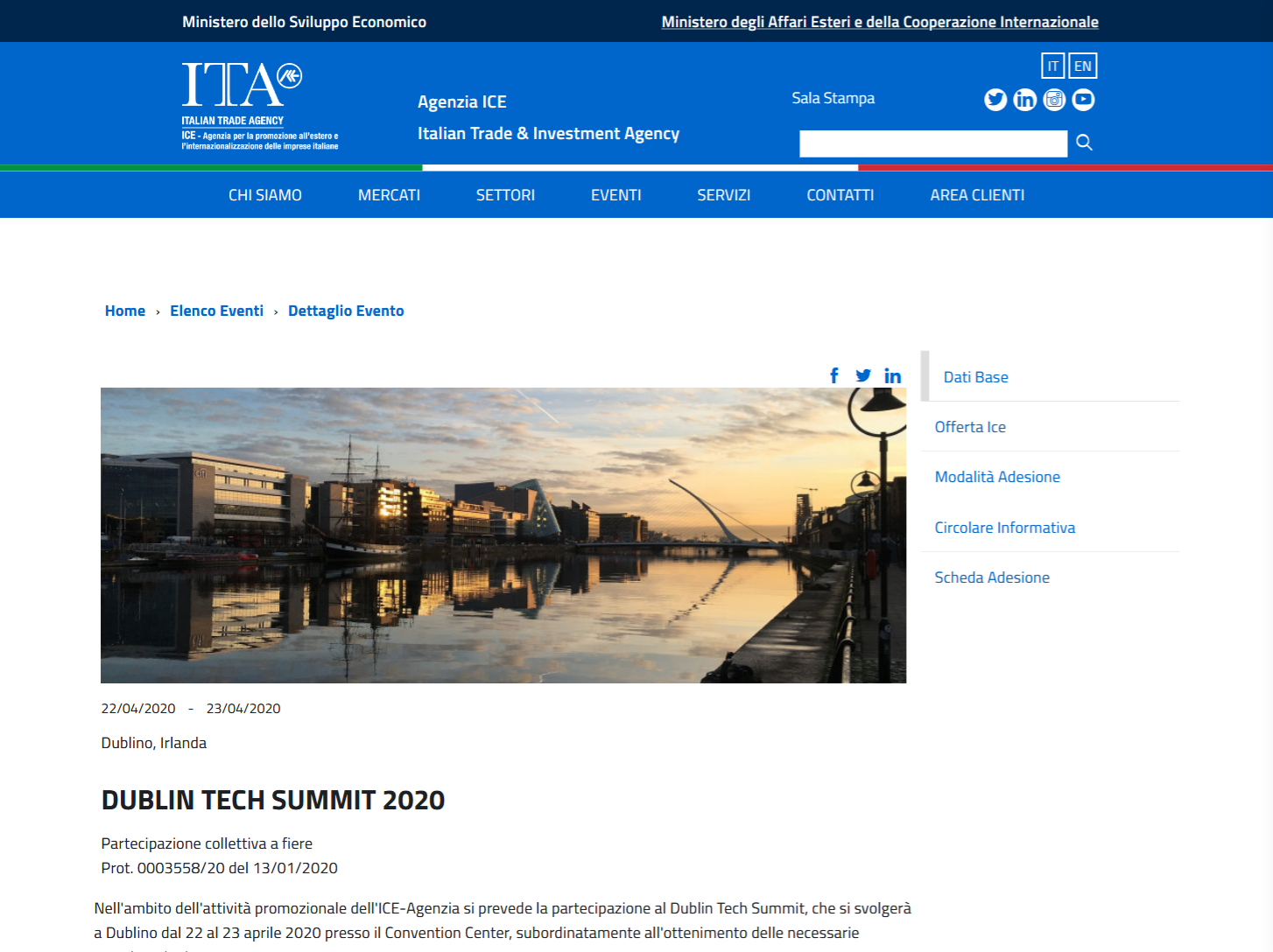DUBLIN TECH SUMMIT 2020